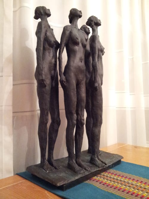 Sculptures by Won Lee seen at Private Residence, Toronto - Waiting for Godot #1