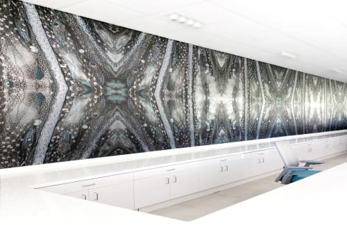 Murals by EDGE Collections seen at Orlando, Orlando - Custom murals by EDGE Collections