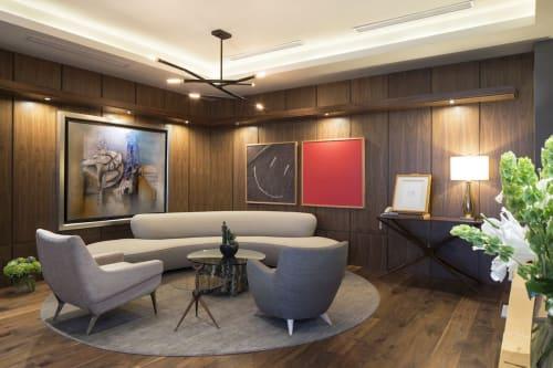 Couches & Sofas by Vladimir Kagan seen at Topo Chico Headquarters, Monterrey - Couches & Sofas