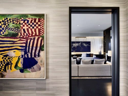Paintings by Amelia Midori Miller seen at One57, New York - Painting