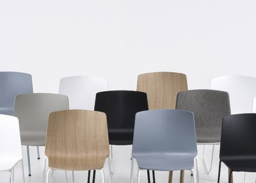 Interior Design by Ramos+Bassols seen at 333 George St, Sydney - Rama chair by Ramos Bassols for Kristalia