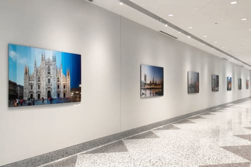 """Photography by Richard Silver Photo seen at Bank of America ATM, Chicago - """"Time Slice Milan"""""""