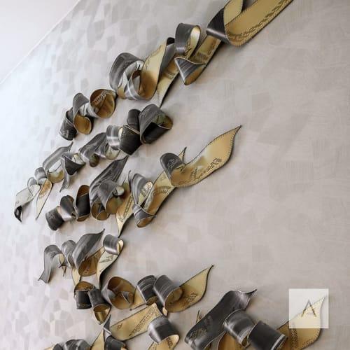 Sculptures by Jennifer Falck Linssen seen at Address Downtown, Dubai - Handwritten