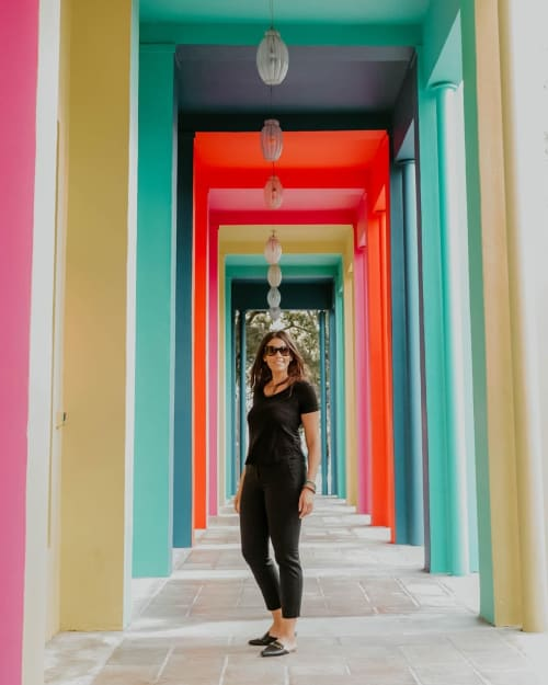 Art & Wall Decor by Johanna Grawunder seen at Fendi, Miami - Colorful Columns