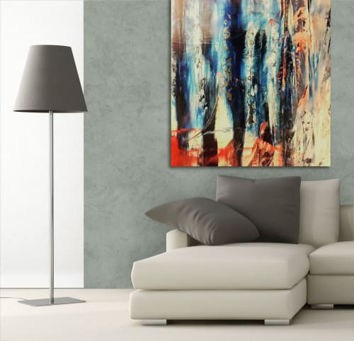 Paintings by Marco Domeniconi Studio seen at Private Residence, New York - Lover of Sorrow
