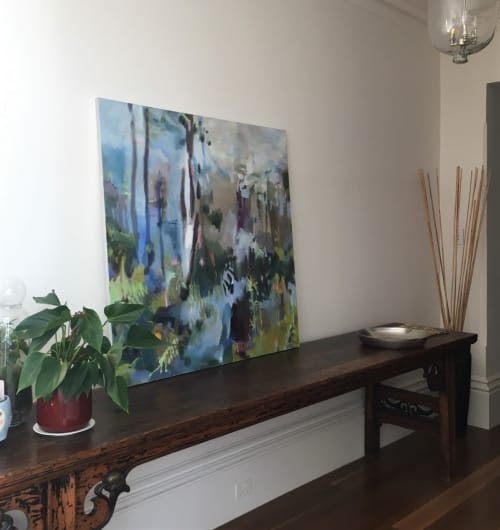 Paintings by Cristina Metelli seen at Private Residence, Norwood - Untitled