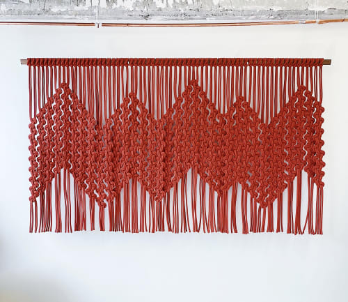 Wall Hangings by Windy Chien seen at Square Inc, San Francisco - Bridge Linescape