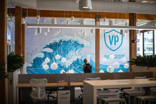 Murals by Right Way Signs, LLC seen at Chicago, Chicago - Vital Proteins - Feature Mural