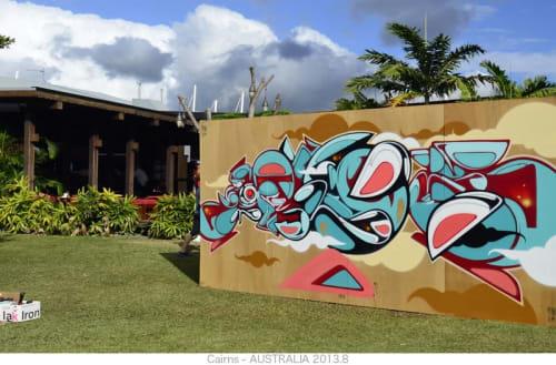 Murals by SUIKO seen at Cairns, Cairns - Mural
