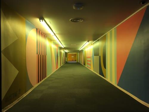 Street Murals by SULLYSTRING seen at OKC Underground, Oklahoma City - OKC Underground Mural