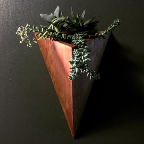Vases & Vessels by Jessie Nelson seen at Private Residence, New York - Spiritus Vitae Cedar Planter