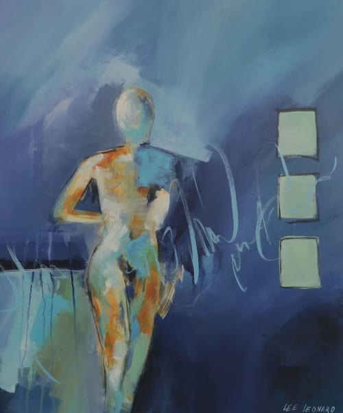 Paintings by Lee Leonard seen at Private Residence - Her Strength