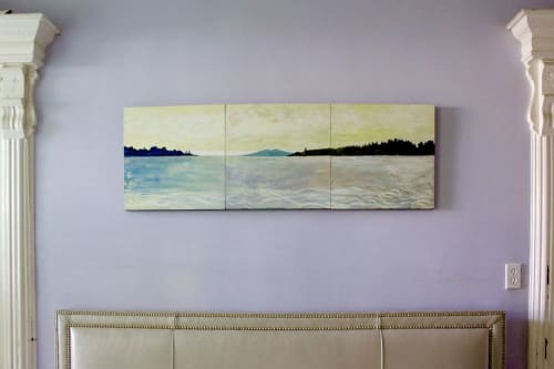 Paintings by willa vennema seen at Private Residence, Brooklyn - Warm Light