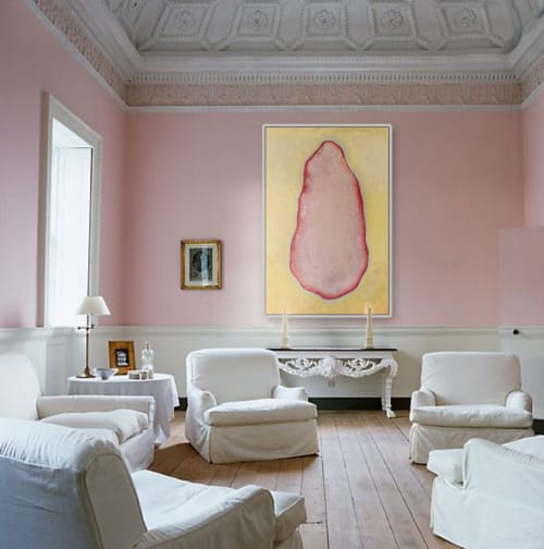 Paintings by Heikedine Günther seen at Private Residence, Basel - Core No. P-c 423