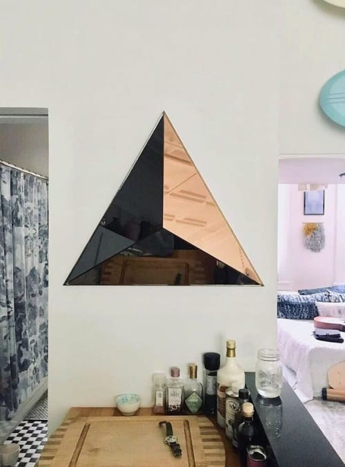 Wall Hangings by Robert Sukrachand seen at Private Residence, Brooklyn - Volume Mirror