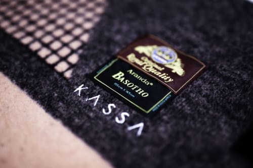 Linens & Bedding by Kassa Studio seen at 40 Abbot Rd, Randburg - The  Matšeliso blanket