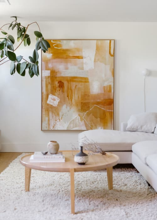 Paintings by Kristen Abbott seen at Private Residence, Denver - Your Translucent Beauty Awaits