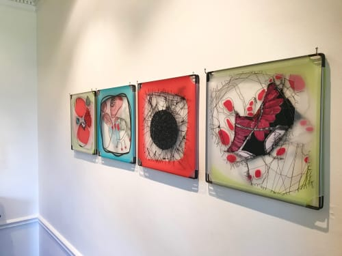 Wall Hangings by Leisa Rich at Private Residence, Atlanta - Play With Me…No, Really…PLAY With Me!