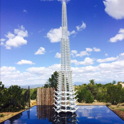 Public Sculptures by KevinBoxStudio. seen at Santa Fe Botanical Garden, Santa Fe - Master Peace