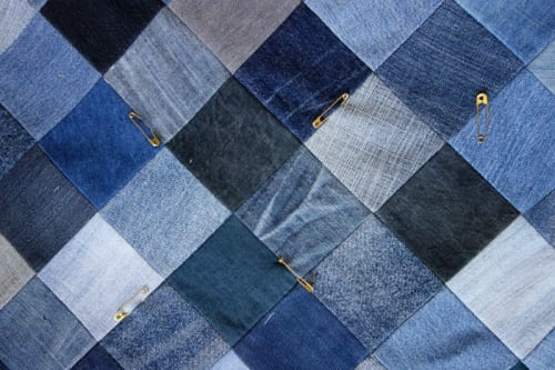 Art & Wall Decor by DaWitt seen at Daniela Witt Studio, Leipzig - Denim Quilt