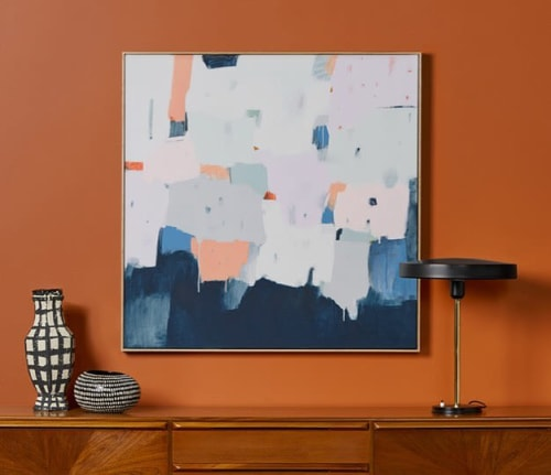 Paintings by Sarah Kelk seen at Private Residence, Melbourne - Central