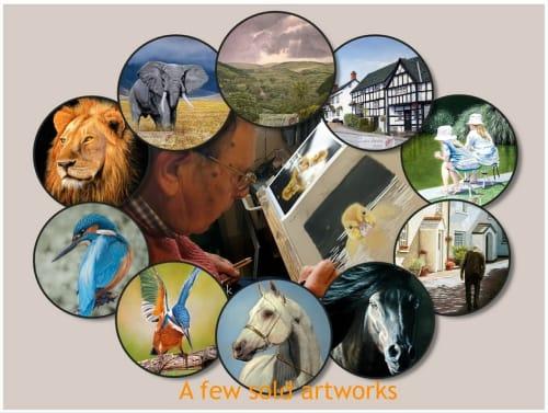 Ivan Jones Artist - Paintings and Art