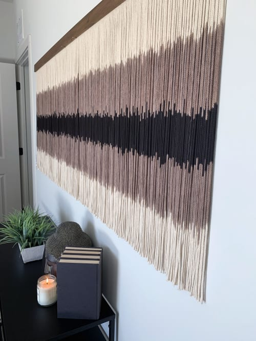 Macrame Wall Hanging by Jay Durán @ J. Durán Art + Home seen at Dallas, Dallas - Commissioned Piece for Highrise Macrame Wall Hanging / Fiber