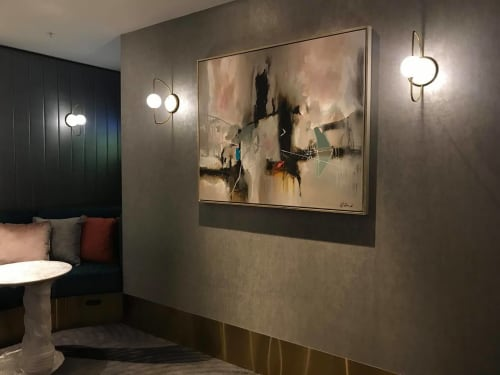 Paintings by Rob Forlani seen at Private Residence, Sydney - 'Neapolitan'
