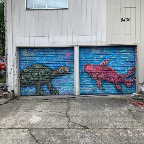 Yuya Negishi - Art and Street Murals