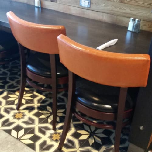 Tiles by Avente Tile seen at Osteria by Fabio Viviani, Los Angeles - Cement Tile