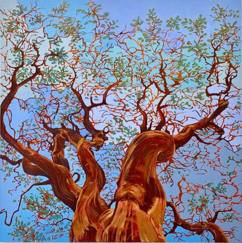 Paintings by Fernando Reyes Fine Art seen at Creator's Studio, Oakland - Manzanita Magnificent