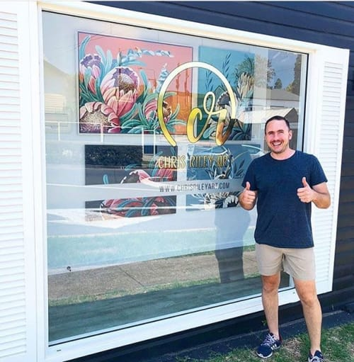 Chris Riley Art - Paintings and Murals