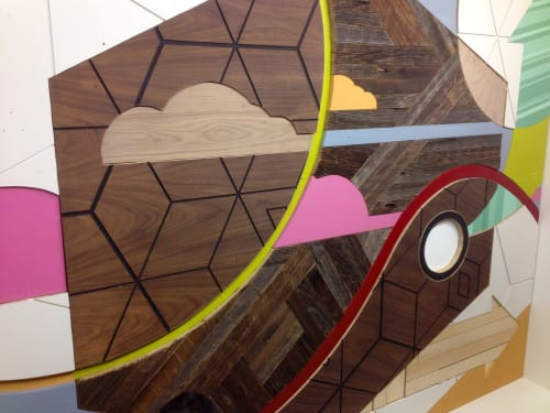 Murals by Chris Silva at OFS Brands, West Merchandise Mart Plaza, Chicago, IL, Chicago - OFS Brands Mural