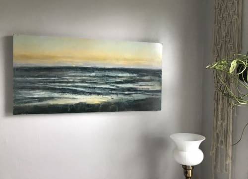 Paintings by Zachary Hixson seen at Private Residence, McMinnville - Neskowin