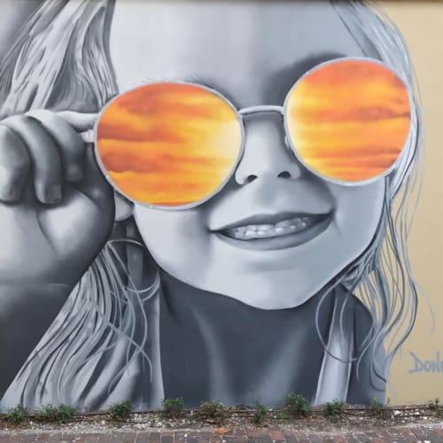 Murals by Saintpaintarts seen at Beach Drive Southeast, St. Petersburg - 768 Days of Sunshine