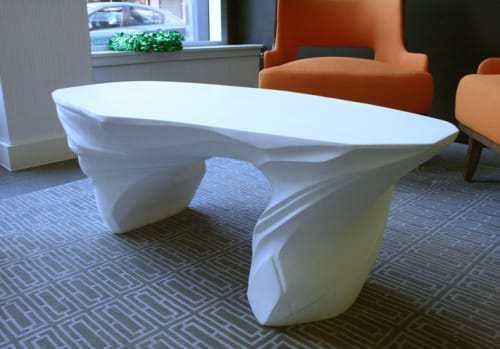 Tables by Pryor Callaway Art and Design seen at Residential Lobby, Brooklyn - Drift Table