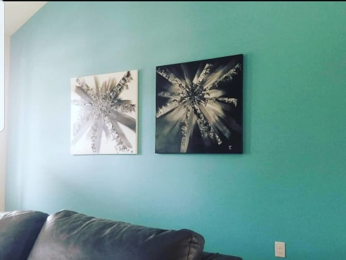 Paintings by Troy Carlton seen at Private Residence, Allegan - Paintings