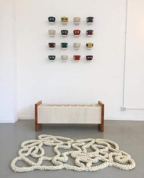 Rugs by Nancy Winarick at Metropolitan City of Milan - culebras
