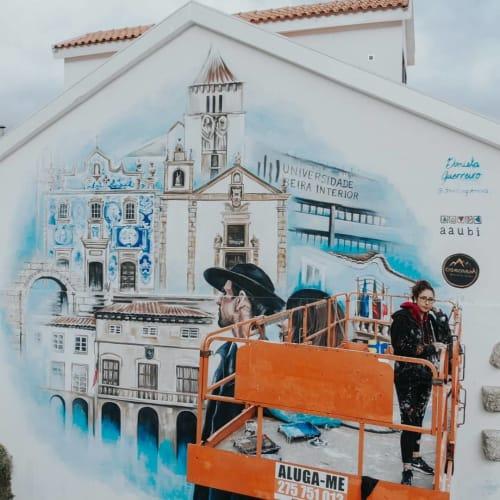 Street Murals by Daniela Guerreiro seen at Covilha, Covilha - Covilha Mural