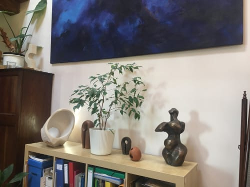 Paintings by Andraz Salamun seen at Private Residence, Momjan, Momjan - Painting