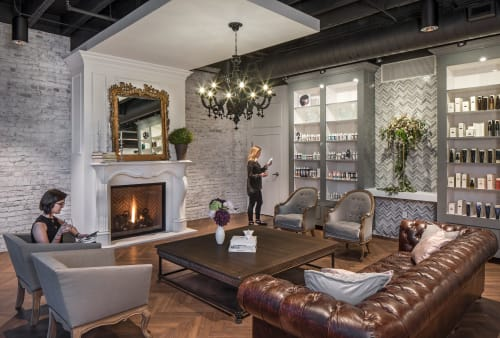 Interior Design by Studio | BRiNK seen at Oliver & Tate, Omaha - Oliver + Tate Salon