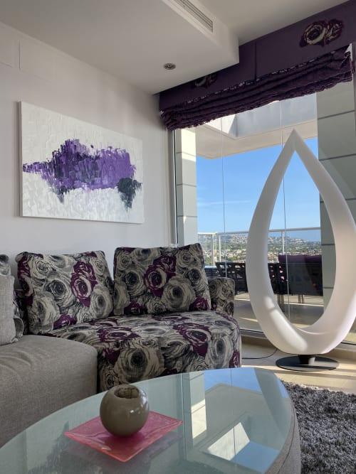 Paintings by Hugo Auler Jr. Art seen at Private Residence, Calp - Purple Spanish Bull