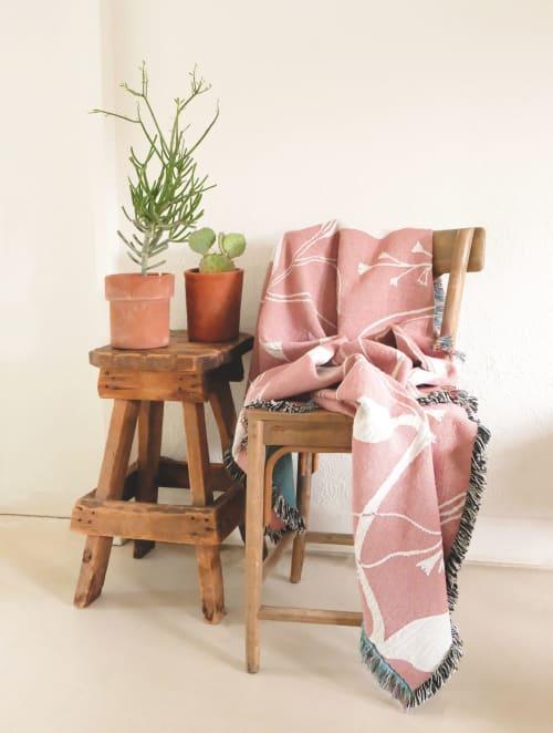 Linens & Bedding by Elana Gabrielle seen at at Dawn. O'AHU, Honolulu - Blooms Throw