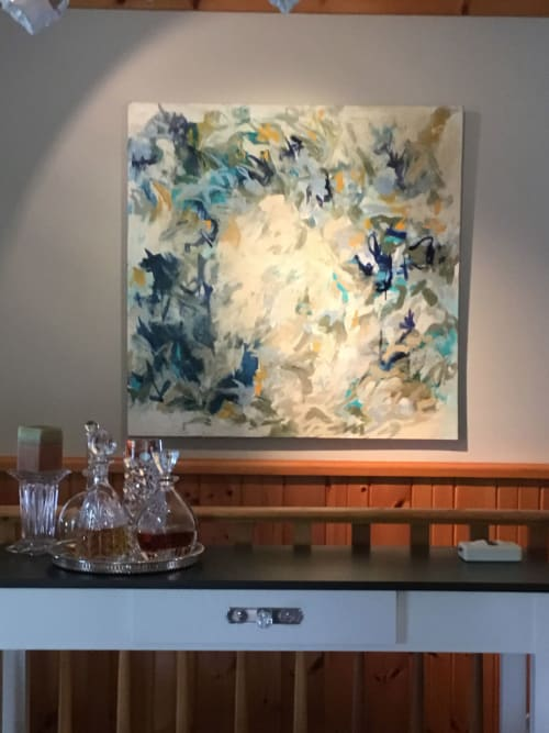 Paintings by Barfoot Fine Art seen at Private Residence - Sauble Beach, ON, Sauble Beach - Whispers