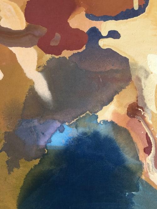 Paintings by Christine Cover seen at Private Residence - Prairie Village, KS, Prairie Village - Dynamics