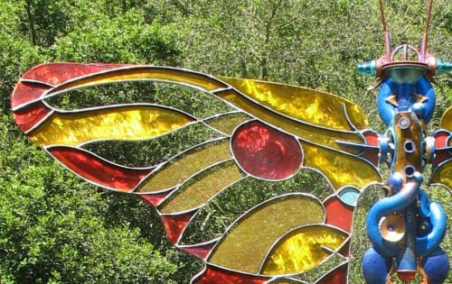 Sculptures by Bryan Tedrick Sculpture seen at Private Residence, Lafayette - MARIPOSA