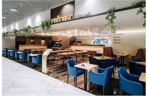 Interior Design by YamJam Creative seen at refresh delux cafè, Dubai - Interior Design