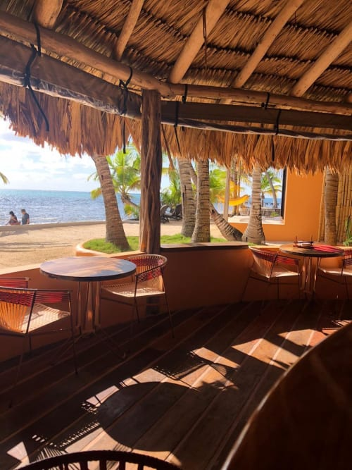 Chairs by Tucurinca seen at Matachica Resort Belize, Ambergris Caye - Maye Chair