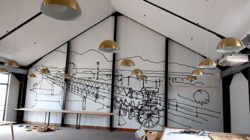 Lorenzo Nassimbeni - Murals and Art & Wall Decor