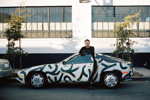 Public Art by Ethan Lipsitz Lives seen at Los Angeles, Los Angeles - Custom Painted 1979 Porsche 928